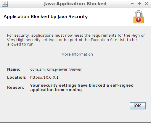 java exception blocked